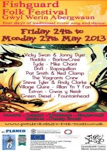 Fishguard Folk Festival - Gwyl Werin Abergwaun