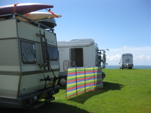 Rapsquillicamp, Three Cliffs Bay, Gower Festival 2012