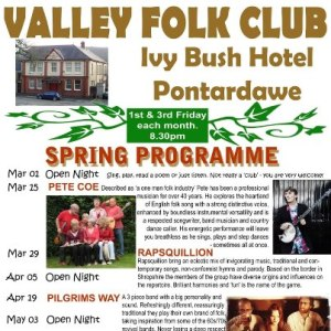 Valley Folk Club, Pontardawe